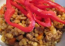 Aztécké těstovinové rizoto