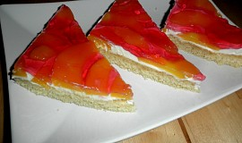 Broskvový dezert s Mascarpone