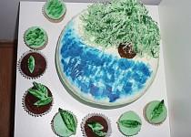 Dort s vrbou + cupcakes