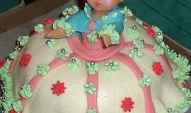 Dort z bábovky-panenka