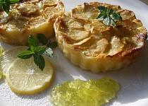 Glazované mascarponové koláčky s jablky