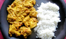 Indické kuřecí curry