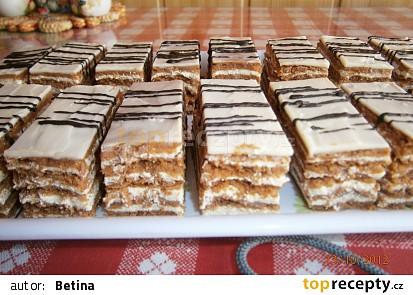Kakaové medové řezy