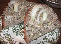 Pomazánka ze sušených hub
