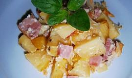 Zapékané brambory se slaninou