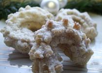 Andělské vanilkové rohlíčky