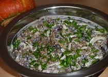 Čočkový salát s václavkami - pro Maris