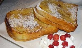 Francouské toasty s malinovou zavařeninou á la Natýsek
