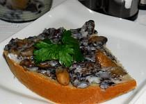 Houbové škvarky, houbové sádlo