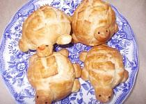 Houstičky želvičky - Bułeczki żółwiki