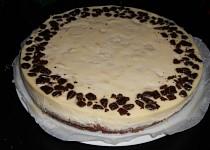 Hruškový cheesecake s čokoládou