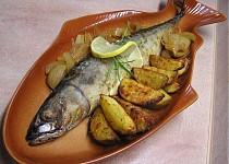 Makrely plněné bylinkovým tvarohem