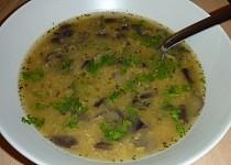 Polévka z červené čočky a václavek