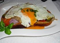 Topinečka s vajíčkem