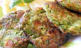 Brokolicové placičky