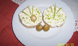 Česneková pomazánka