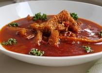 Dršťková polévka I