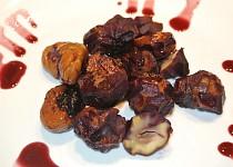 Kaštany v červeném víně