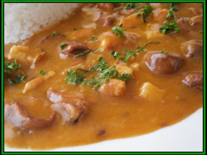 """Kuřecí """"gazdovská"""" srdíčka (a polévka z vývaru), Kuřecí""""gazdovská""""srdíčka"""