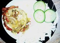 Pečený Hermelín se zeleninou