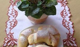 Rohlíčky s jablečnou náplní