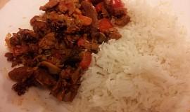 Rychlý oběd ze sojového masa