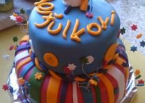 Barevný dortík s ovečkou Shaun