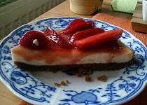 Cheesecake s jahodami