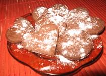 Kakaové sušenky ke kávě