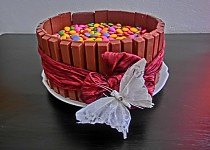 Kit kat dortík