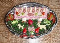 Slaný dort - pro Klárku