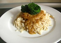 Vepřové plátky se staročeskou rýží
