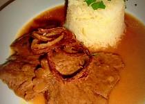 Vídeňská roštěná s rýží
