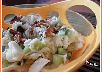 Celerový salát s ořechy