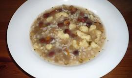 Hrstková polévka  à la Verča