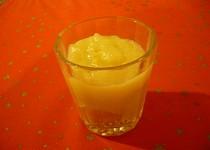 Jablečno-pudinkové pyré