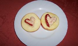 Jablka se sýrem