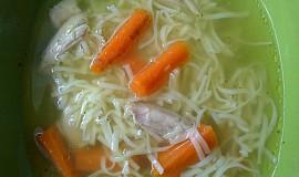 Kuřecí nudlová polévka