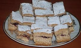 Medový perník s marmeládou