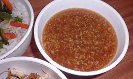 Nuoc Cham Gung - vietnamská zázvorová omáčka