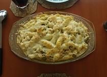 Penne se sýrovosmetanovou omáčkou a brokolicí