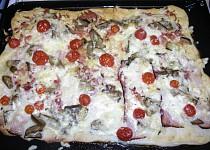 Pikantní salámová pizza