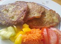 Plněný bramborák se sýrem