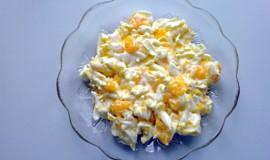 Salát ze zelí s mandarinkou