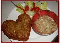 Valentýnské bramboráčky