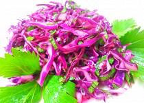 Zelny salat s celerovou nati