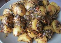 Bombay potatoes (brambory)