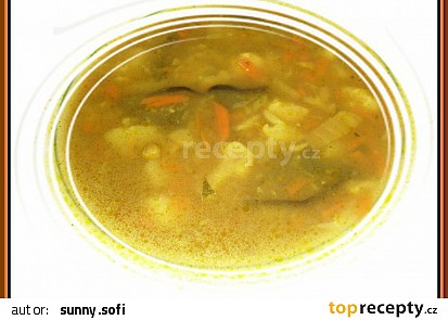 Bramborová polévka s vůní Indie