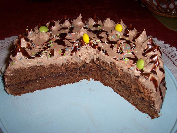 z černé buchty je skvělý dortík