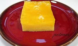 Citronový koláč z polenty (bez lepku, mléka a vajec)